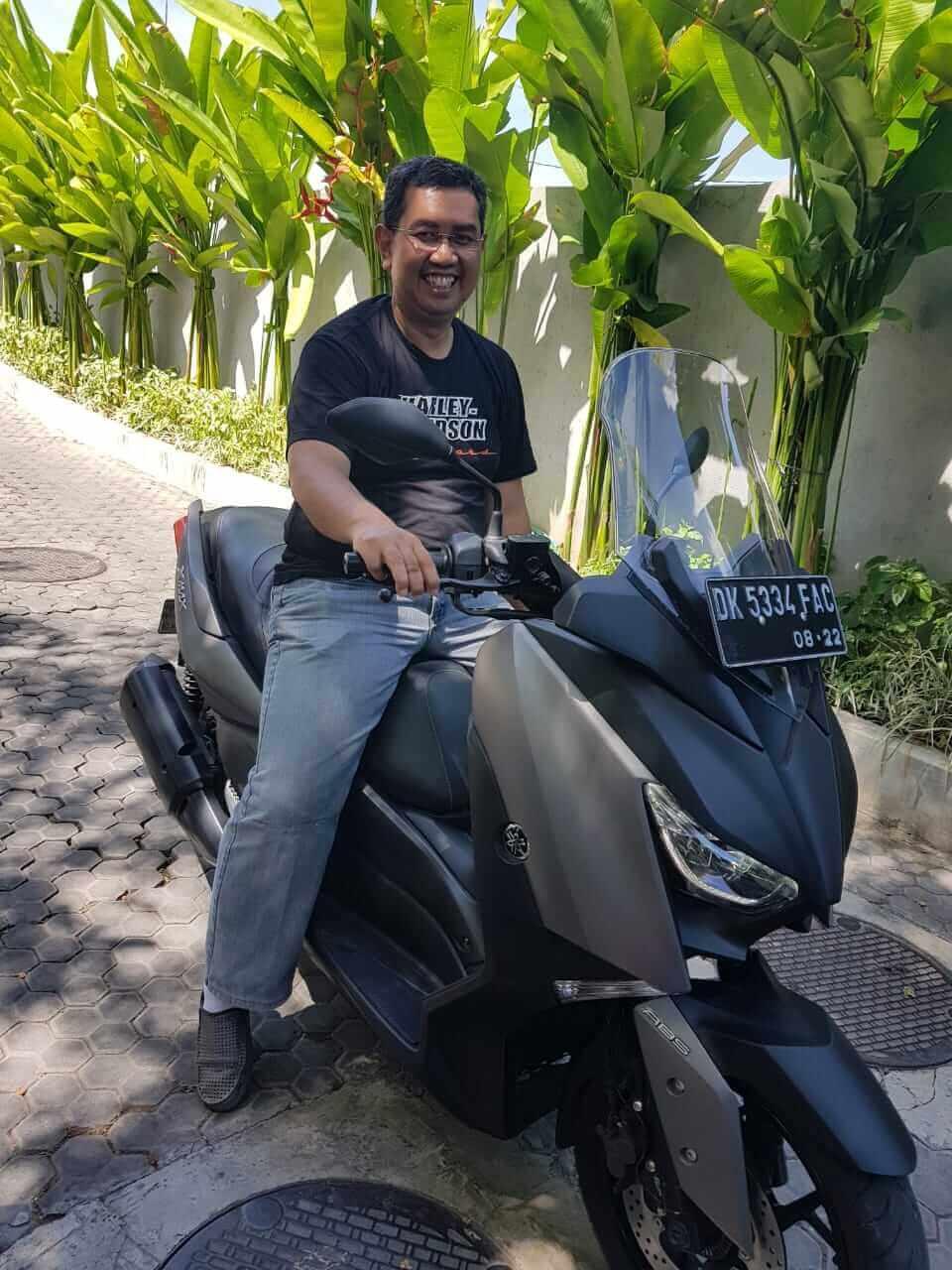 Sewa motor di Legian Kuta Bali