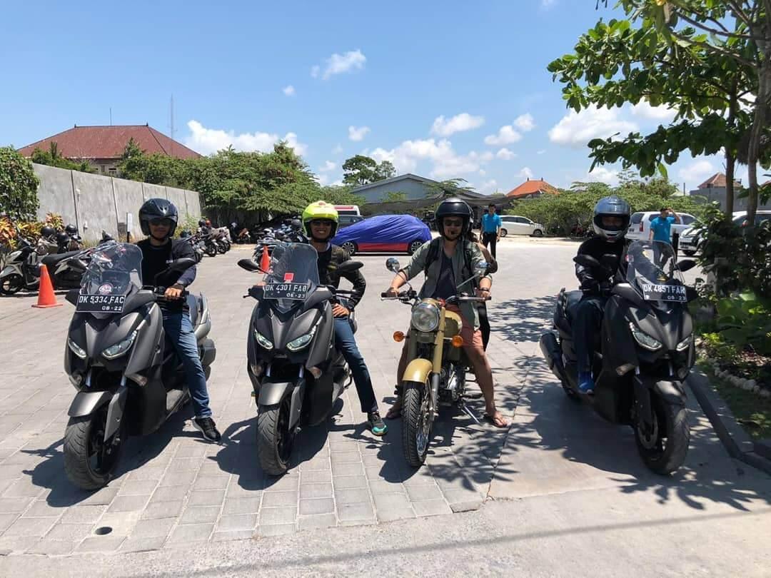 Persyaratan mudah untuk sewa motor